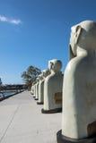 Esculturas en San Diego, California Imagen de archivo libre de regalías