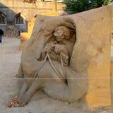Esculturas feitas da areia foto de stock royalty free