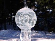 Esculturas hechas del hielo - alto Tatras - Eslovaquia Foto de archivo libre de regalías