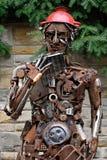 Esculturas hechas del metal Rietberg, Alemania Foto de archivo libre de regalías