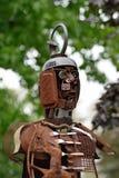 Esculturas hechas del metal Rietberg, Alemania Imagen de archivo
