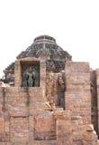 Esculturas hermosas de dios de Sun, templo Konark de Sun Foto de archivo