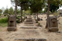 Esculturas hititas, Gaziantep, Turquía Foto de archivo libre de regalías
