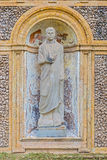 Esculturas na casa de campo Pamphili em Roma, Itália Imagens de Stock