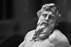 Esculturas na fonte, câmara municipal de Bruxelas Imagem de Stock Royalty Free