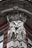 Esculturas no edifício velho Fotografia de Stock Royalty Free