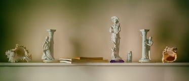 Esculturas pequenas Ainda vida 1 Fotos de Stock