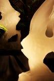 Esculturas Skillfully feitas fora do gelo Imagens de Stock