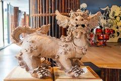 Esculturas vietnamitas, expo 2015, Milán Fotos de archivo libres de regalías