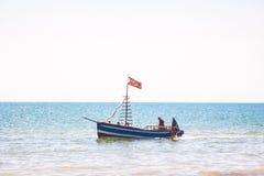 Escuna alegre da pirataria Imagem de Stock