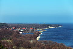 Escupitajo de Curonian Imagen de archivo libre de regalías