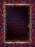 Escuridão do quadro da estrela ilustração stock