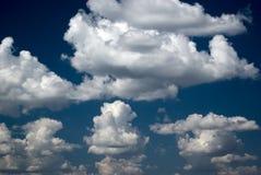 Escuro - céu azul Foto de Stock Royalty Free