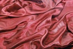 Escuro - cetim vermelho Foto de Stock