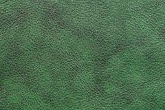 Escuro - couro verde Imagens de Stock