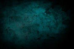 Escuro - esverdeie o fundo do grunge Foto de Stock