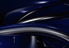 Escuro - fio azul Imagens de Stock