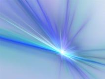 Escuro - flama azul Fotos de Stock