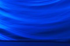 Escuro - fundo abstrato azul Imagens de Stock