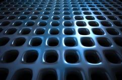 Escuro - fundo abstrato azul Fotos de Stock