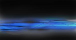 Escuro - fundo abstrato azul Foto de Stock Royalty Free