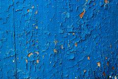 Escuro - fundo abstrato de madeira velho azul Imagem de Stock