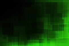 Escuro - fundo abstrato verde Fotografia de Stock