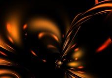 Escuro - fundo alaranjado 02 Ilustração Stock