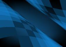 Escuro - fundo azul Fotos de Stock