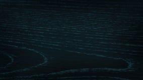 Escuro - fundo azul da superfície da madeira com textura do detalhe Fotografia de Stock Royalty Free