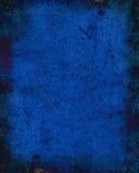 Escuro - fundo azul da textura Imagens de Stock