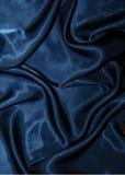 Escuro - fundo azul de veludo Foto de Stock Royalty Free