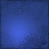 Escuro - fundo azul do grunge ilustração stock