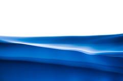 Escuro - fundo azul no branco Imagem de Stock