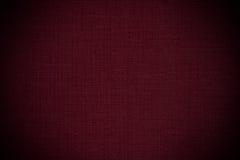 Escuro - fundo de couro vermelho Fotos de Stock Royalty Free