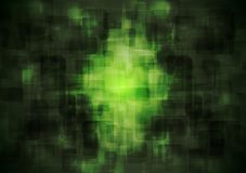 Escuro - fundo geométrico do vetor verde Foto de Stock Royalty Free