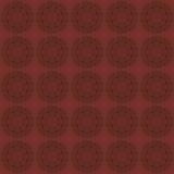 Escuro - fundo sem emenda vermelho com teste padrão decorativo Vetor Fotografia de Stock
