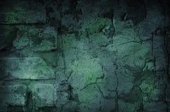 Escuro - fundo verde Imagens de Stock Royalty Free