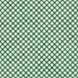 Escuro - fundo verde da repetição do teste padrão do guingão Fotos de Stock