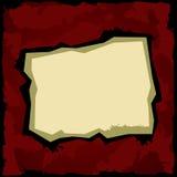 Escuro - fundo vermelho Fotos de Stock Royalty Free