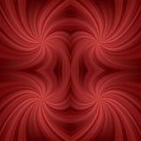 Escuro - fundo vermelho do redemoinho Ilustração Stock
