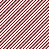 Escuro - fundo vermelho e branco da repetição do teste padrão listrado Imagens de Stock Royalty Free