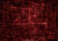 Escuro - fundo vermelho no estilo do grunge foto de stock royalty free