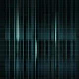 Escuro - o azul borrou o fundo com código binário no vetor Vertica Fotografia de Stock Royalty Free