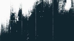 Escuro - o grunge de madeira azul chapeia o fundo Ilustração f do vetor Imagens de Stock Royalty Free