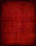 Escuro - pano vermelho Foto de Stock