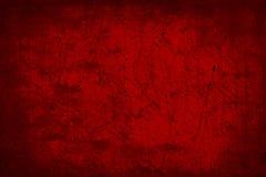 Escuro - papel de parede velho vermelho do fundo da textura do sumário do Grunge Fotos de Stock Royalty Free