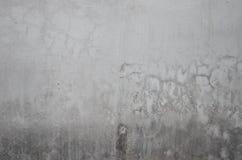 Escuro - parede concreta cinzenta da textura Fotografia de Stock Royalty Free