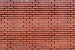 Escuro - parede de tijolo vermelho Imagens de Stock Royalty Free