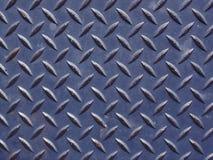 Escuro - placa azul do diamante Imagens de Stock